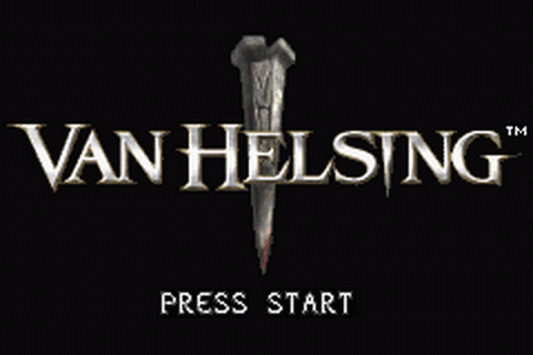 Van Helsing title screenshot