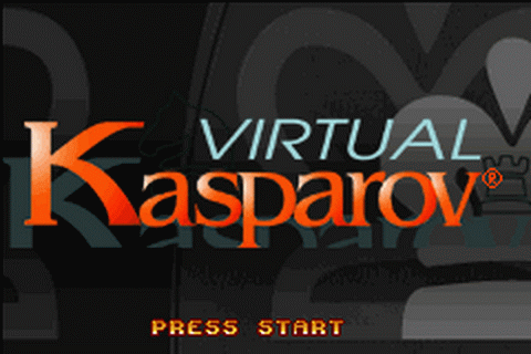 Virtual Kasparov title screenshot