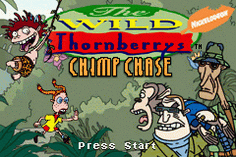 Wild Thornberrys, The - Chimp Chase title screenshot