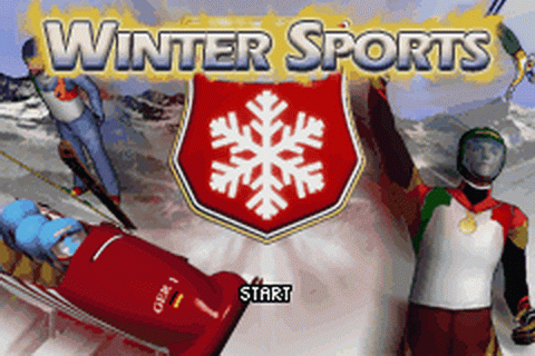 Winter Sports title screenshot