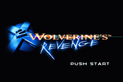 X2 - Wolverine's Revenge title screenshot