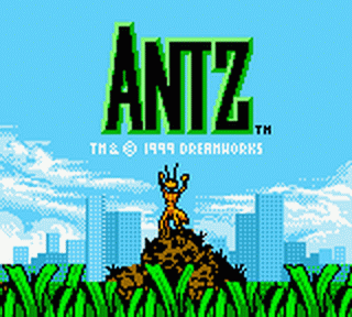 Antz title screenshot