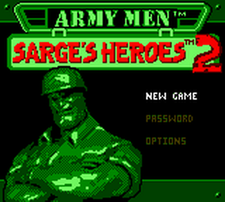 Army Men - Sarge's Heroes 2 title screenshot