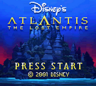 Atlantis - The Lost Empire title screenshot