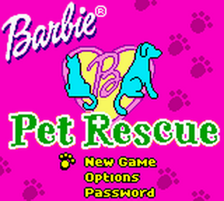 Barbie - Pet Rescue title screenshot