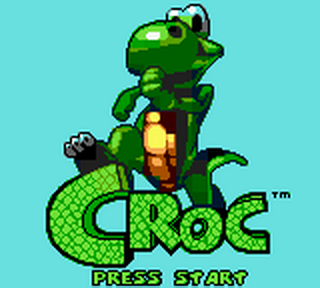 Croc title screenshot
