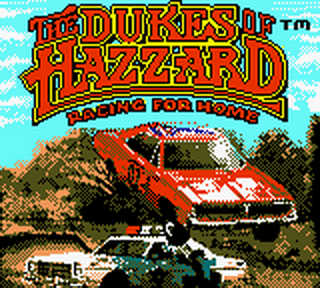 Dukes of Hazzard, The - Racing for Home title screenshot