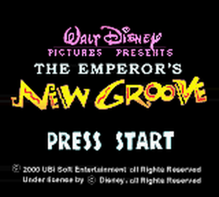Emperor's New Groove, The title screenshot