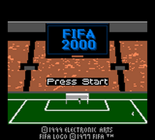 FIFA 2000 title screenshot