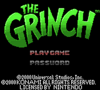 Grinch, The title screenshot