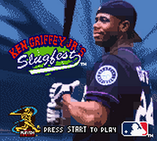 Ken Griffey Jr.'s Slugfest title screenshot