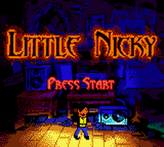Little Nicky title screenshot