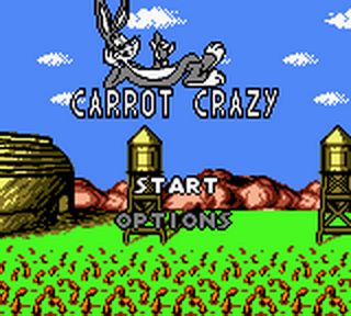 Looney Tunes - Carrot Crazy title screenshot