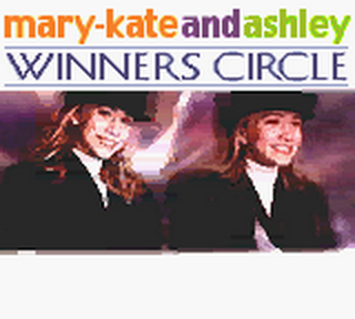 Mary-Kate and Ashley - Winners Circle title screenshot