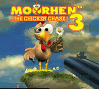Moorhen 3 - The Chicken Chase! title screenshot