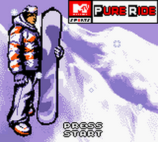 MTV Sports - Pure Ride title screenshot