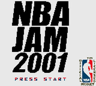 NBA Jam 2001 title screenshot