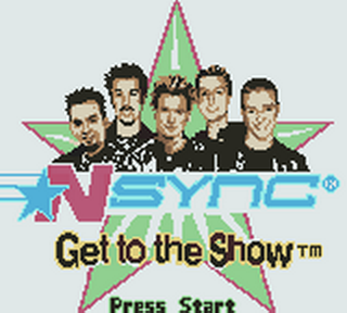NSYNC - Get to the Show title screenshot