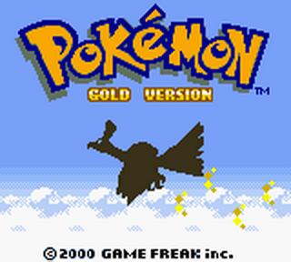 Pokemon - Gold Version title screenshot