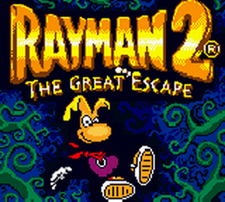 Rayman 2 - The Great Escape title screenshot