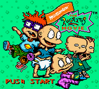 Rugrats Movie, The title screenshot