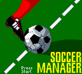 Soccer Manager title screenshot