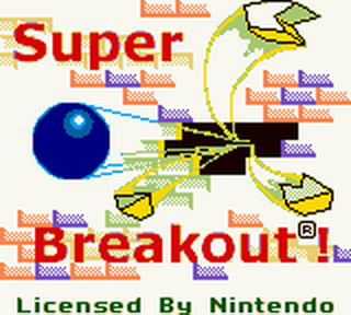Super Breakout! title screenshot