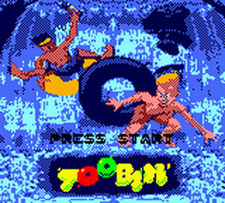 Toobin' title screenshot