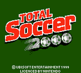 Total Soccer 2000 title screenshot