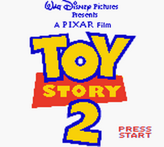 Toy Story 2 title screenshot