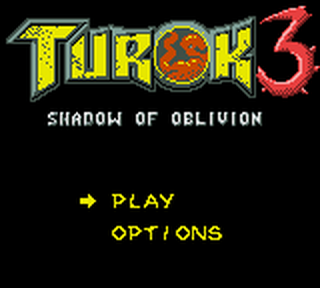 Turok 3 - Shadow of Oblivion title screenshot