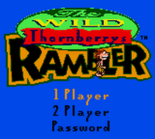 Wild Thornberrys, The - Rambler title screenshot
