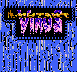 Mutant Virus, The - Crisis in a Computer World title screenshot