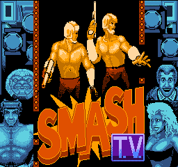 Smash T.V. title screenshot