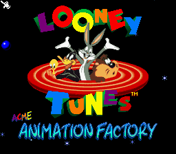 ACME Animation Factory title screenshot