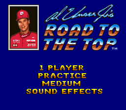 Al Unser Jr.'s Road to the Top title screenshot