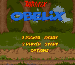 Asterix & Obelix title screenshot