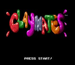Claymates title screenshot