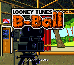 Looney Tunes B-Ball title screenshot