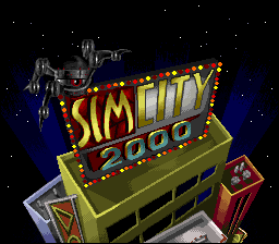 SimCity 2000 title screenshot