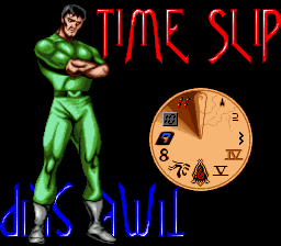 Time Slip title screenshot