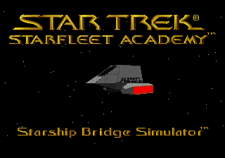 Star Trek Starfleet Academy - Starship Bridge Simulator title screenshot
