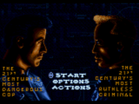Demolition Man title screenshot