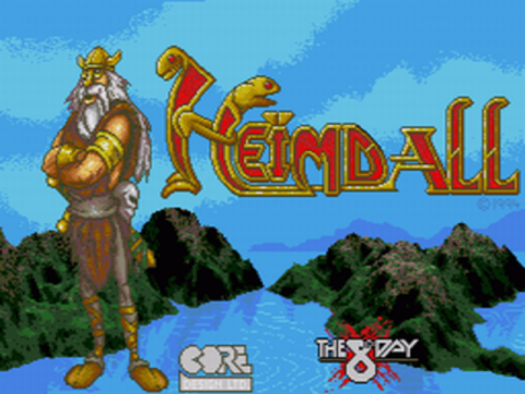 Heimdall title screenshot