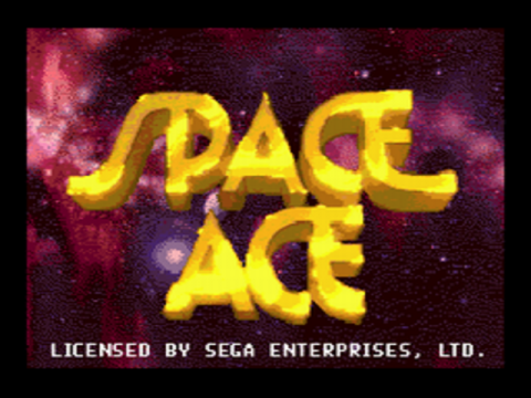 Space Ace title screenshot