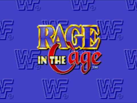 WWF Rage in the Cage title screenshot