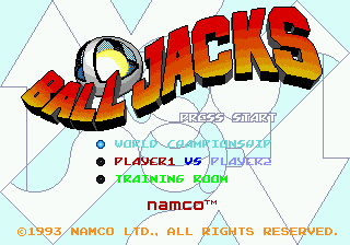 Ball Jacks title screenshot