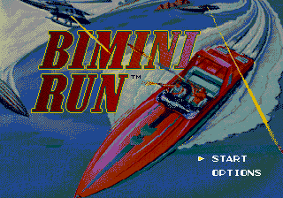 Bimini Run title screenshot