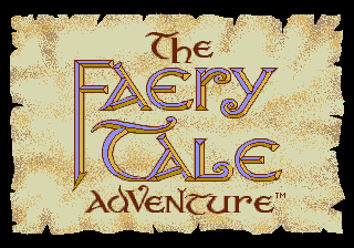 Faery Tale Adventure, The title screenshot