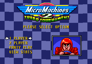 Micro Machines 2 - Turbo Tournament title screenshot